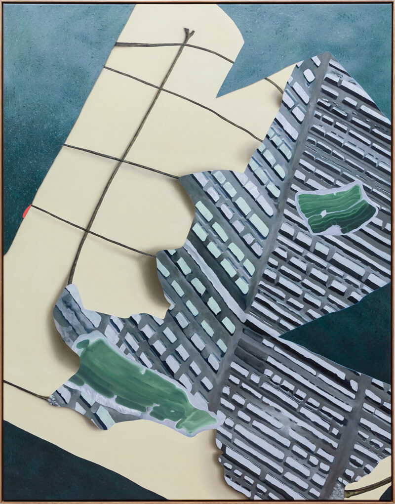 Painting: Tilting at Space